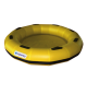 FR78 - Balsa redonda para parque acuático