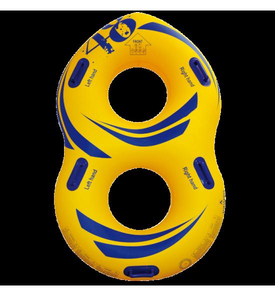 """HB-2F8-48Y - Flotador en forma de """"8"""" para parque acuático"""