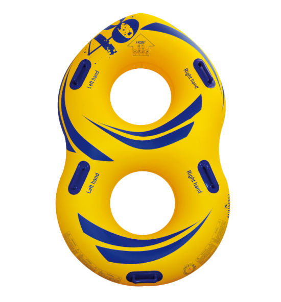 HB-2F8-48Y - Double waterpark tube