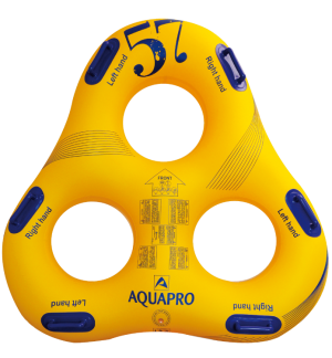 HB-3TR-57Y - Gommone tripla triangularo Parco acquatico