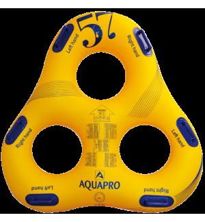 HB-3TR-57Y - Dreieckiger Ring fuer drei Personen fuer Wasserpark