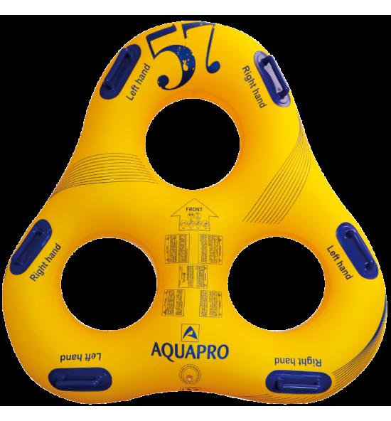 HB-3TR-57Y - Flotador triangular para parque acuático