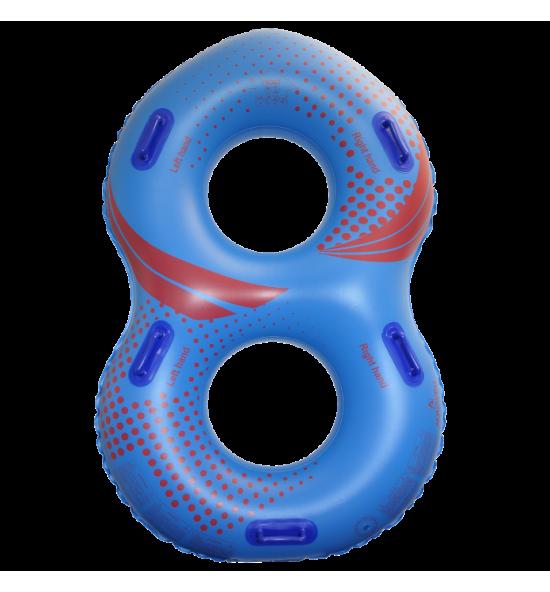 "TDR8B48E - Flotador en forma de ""8"" para parque acuático"