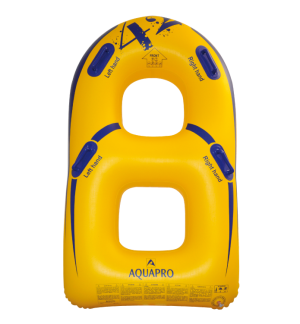 HB-2BU-42Y - 2 person bullet shaped waterpark tube