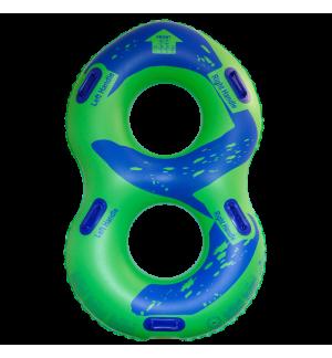 ZLG8G48E - Achtform Zweierring fuer Wasserpark