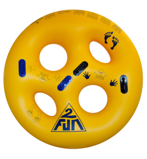 HB-2RO-71Y - 2 person waterpark tube
