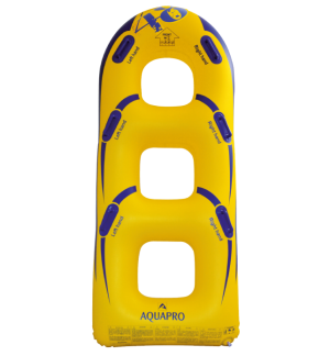 HB-3BU-48Y - 3 person bullet shaped waterpark tube