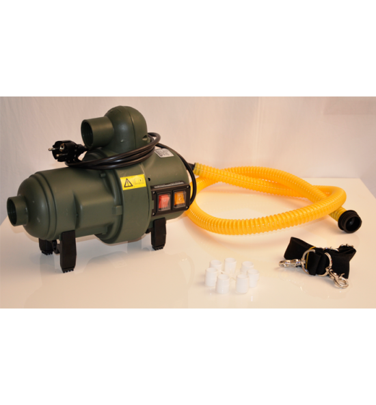 GE 230/2000 - Waterpark tube electric inflator/deflator