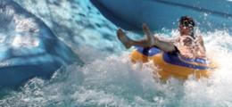 Schwimmreifen mit handgriffe für Wasserparks