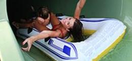 Luges aquatiques