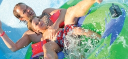 Bouées doubles 8 pour parc aquatique