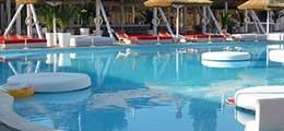 Mobilier piscine, fauteuils gonflables, relax