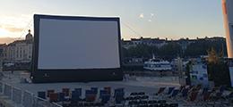 Aufblasbare Kino Projektionsfläche