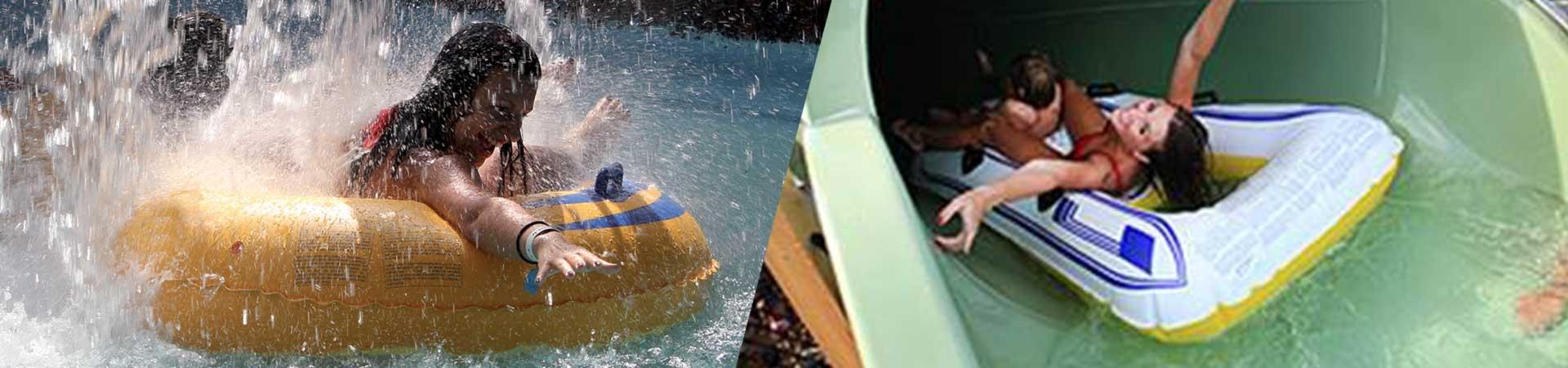 Slitte acquatiche per parchi acquatici