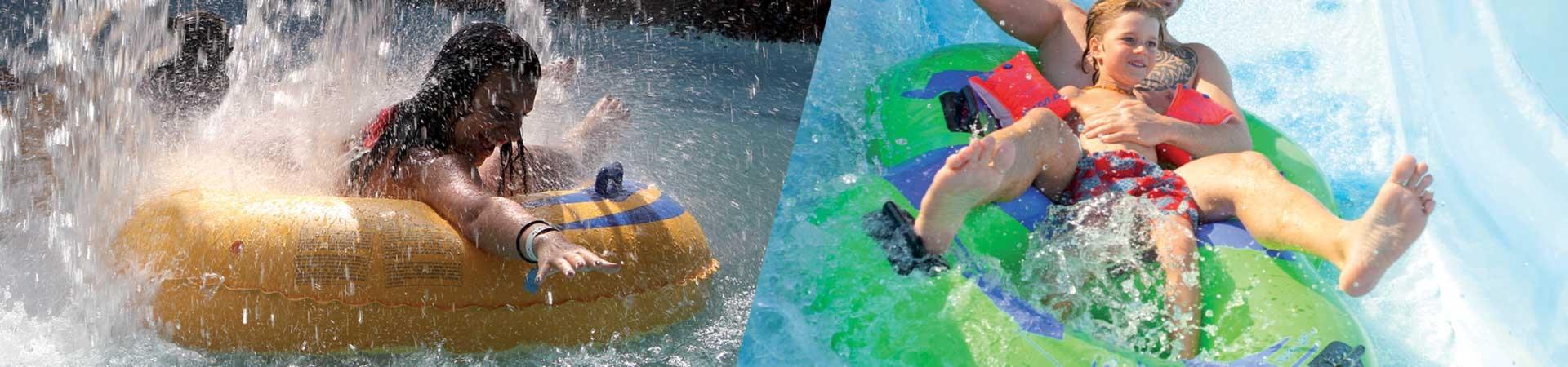 Doppel wasserreifen 8 für Wasserpark