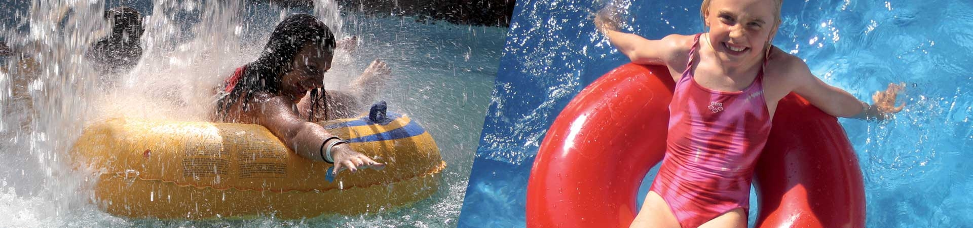 Rotomolded tubes for waterparks