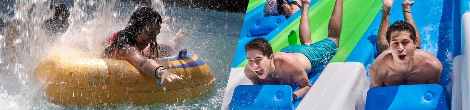 Waterpark slide mat