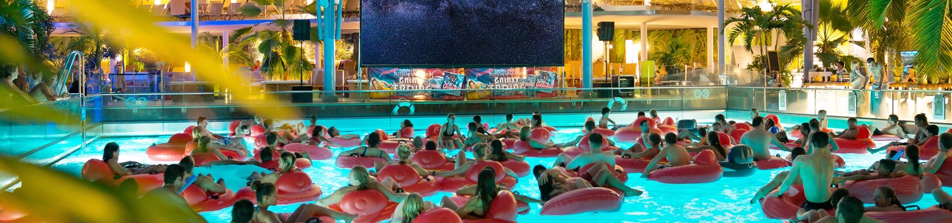 Silla de piscina inflable